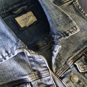 Forever 21 Jean vest